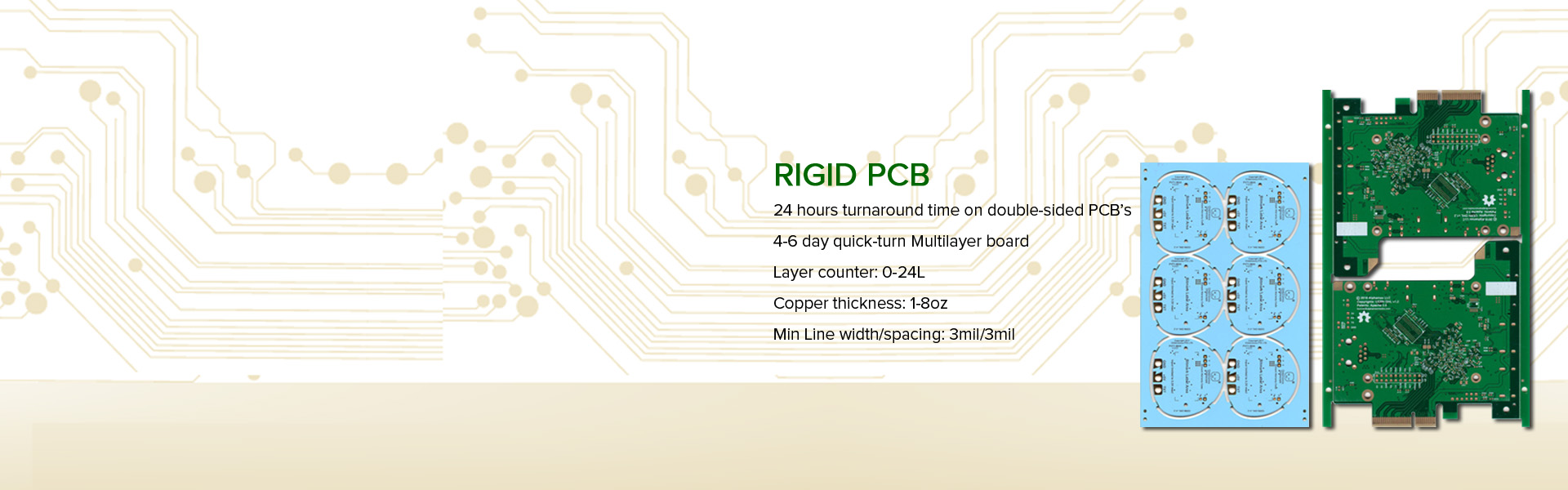 Pcb Fr4 Material Electronic Calculator Circuit Board With